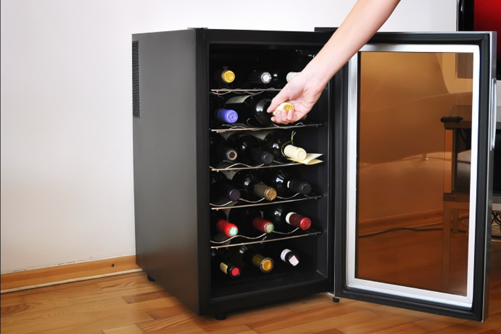 How Does A Wine Refrigerator Cool Your Wine